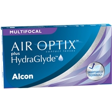 AIR OPTIX plus HydraGlyde Multifocal 6p